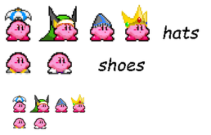 New kirby stuff again by UltraRecons