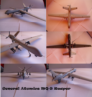 General Atomics MQ-9 Reaper by Teratophoneus