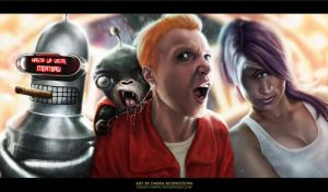 Futurama by Darey-Dawn
