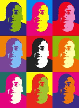 me in andy warhol picture by Shaddar-Bear