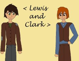 Lewis and Clark by paego