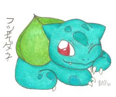 Bulbasaur by Leafy--Greens