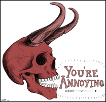 You're Annoying by CuryPotato