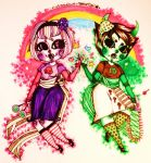 Trickster Time with Rose and Kanaya by Appanda