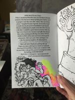 GOOD BOY Adult Coloring Book intro page COMINGSOON by quietsecrets
