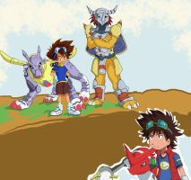 Digimon: New against Old by Shigerugal