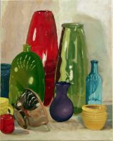 Painting I - Glass Objects by Berbs42