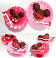 Mickey Mouse Donut and Macaron by PetiteWishes