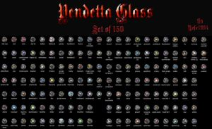 Vendetta Glass Set by nofx1994