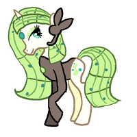 Meloetta Pony Voice Forme by Shadestepwarrior