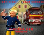 Fireman Sam Movie Poster by hahakool1234