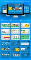 Metro style PowerPoint Presentation Template by C-3PO-upg