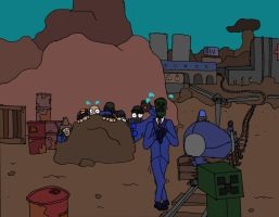 Creeper Fortress 2 by Captain-Edge