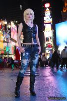 Aya Brea at Times Square by pixiekitty