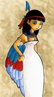 Goddess of Truth by Disdainful-Loni