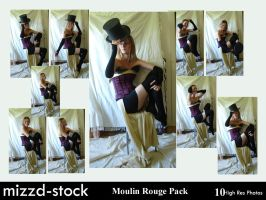 Moulin Rouge Pack 1 by mizzd-stock