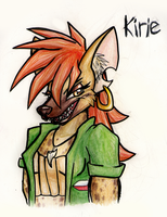 Kirie sketch by Rosemary-the-Skunk
