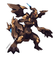 Zekrom Rock Type by Tomycase