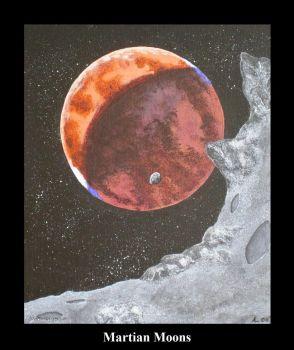 Martian Moons by SWD-Tigercat