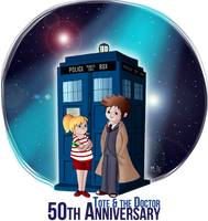 Doctor Who 50th anniversary by Tote0103