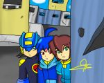 Megaman_exe_and_zx by SioaKnight
