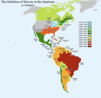 Abolition of Slavery Americas by Hillfighter