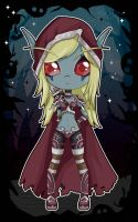 Sylvanas Windrunner Chibi - World of Warcraft by Aphoedia