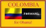 Colombia supports Obama! by Winter-Phantom