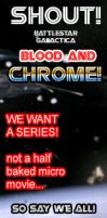 Banner #003 :: Shout Save Blood and Chrome by TorinZece