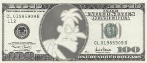 Doof Dollar by Invader-Johnny
