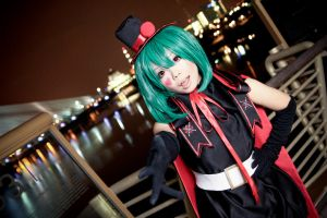 Black Bunny Ranka by Bakasteam