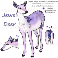 Jewel Deer by Winterthaw