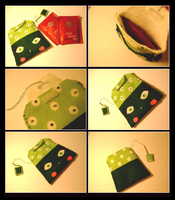 Miss Green Tea Bag by decima