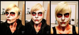 Facepaint | The Female Titan from Attack on Titan by Tressytc