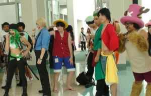 Cosplays from  One Piece at AX 2013 by trivto