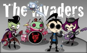 The Invaders-IZ/Goriallz by Piddies0709