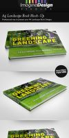 A4 Landscape Book Mock-Up by idesignstudio