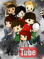Youtubers by C4PNshota