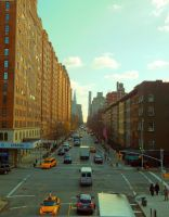 New York City Street Scene by BeFreePhotography