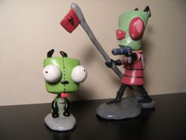 Zim and GIR by Kashana86