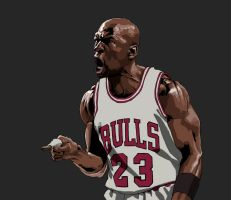 Michael Jordan by kse332