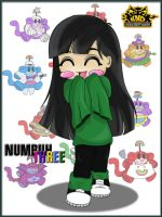Numbuh 3 by Farizada