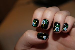 Nail art by WithCandyDancing