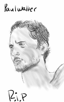 paul walker r.i.p by Watashiwakareoai