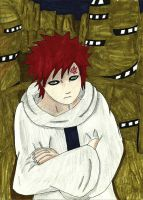 Lord Kazekage Gaara by Mischievous-Princess