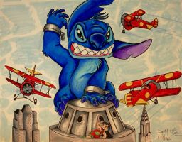 Stitch, the 8th Wonder of the World! by DannyNicholas