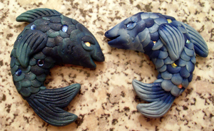 Fish Magnets by MandySeley