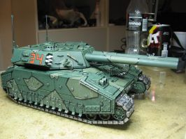 Thunderchild freshly painted by Durnstaros