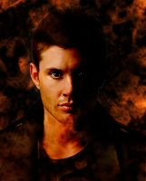 Dean Winchester in Hell by FCME24