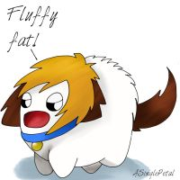 .: Fluffy fat :. by ASinglePetal